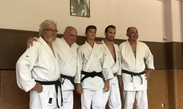 ECST Judo Club : 1ère ceinture noire