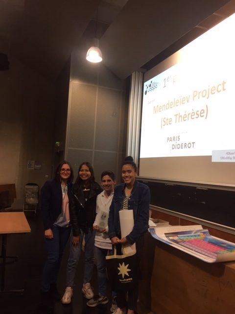 Mendeleïev Project – ECST 1er Prix !