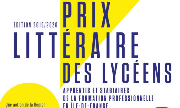 Prix littéraires des Lycéens de la Région Île de France