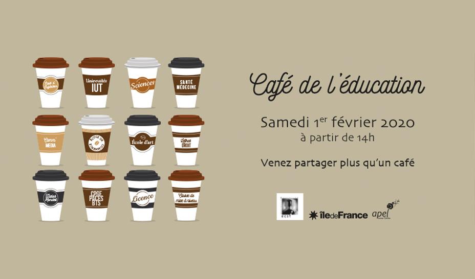 Café de l'éducation 2020 – Planning & Salles