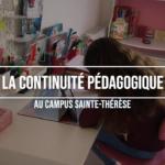 La continuité pédagogique au Campus