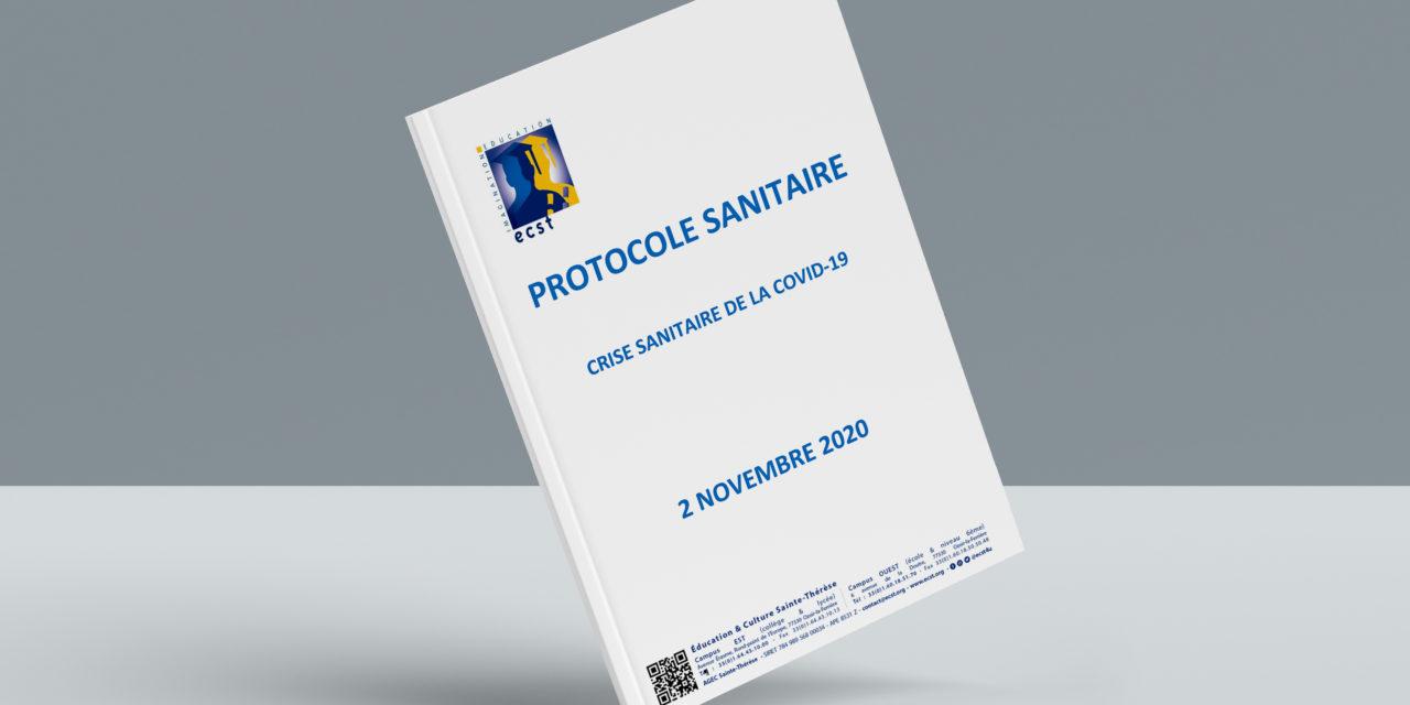 Protocole Sanitaire Novembre 2020