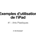 Projet Light'n'Smart : Exemples de travaux avec l'iPad
